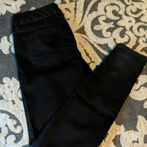 The Limited black jegging jeans.